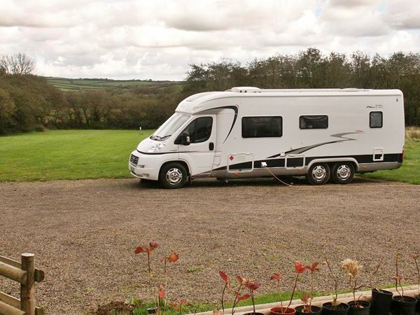 new hardstanding area for motorhomes
