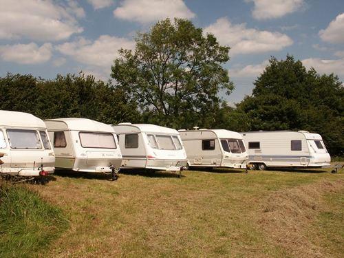 Caravan Storage at Tamar Lake Farm